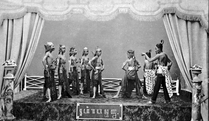 Wayang wong, 1895 (Tropenmuseum)