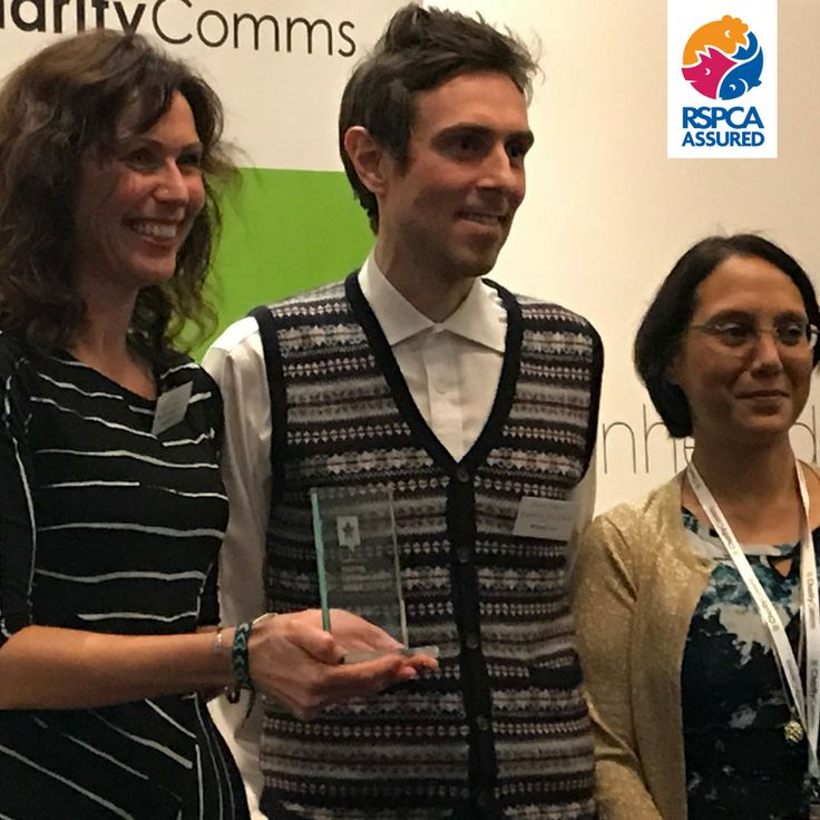RSPCA Assured's agricultural manager, Joe, has won a CharityComms inspiring communicator award, and boy does she deserve it! Joe lives and breathes animal welfare and we, our farmers - and most importantly the animals - ​owe a huge debt to Joe and her hard work: https://www.berspcaassured.org.uk/news/superstar-joe-wins-an-award/