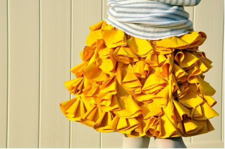 This skirt is adorable, and so easy!