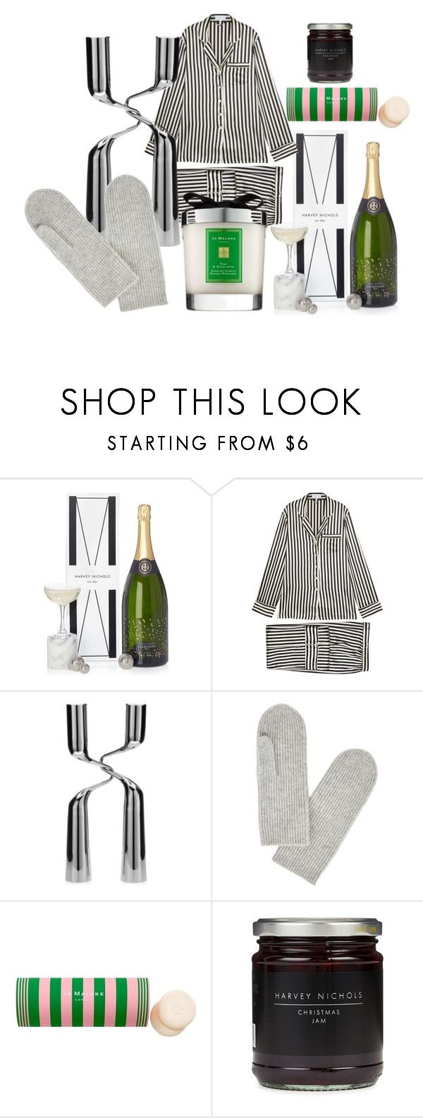 """Christmas Gift Ideas at Harvey Nichols"" by harveynichols ❤ liked on Polyvore featuring Olivia von Halle, Menu, Isabel Marant and Jo Malone"
