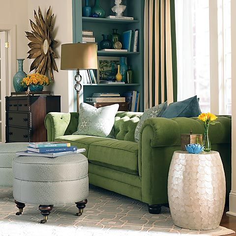 127 Best Images About The Green Sofa On Pinterest