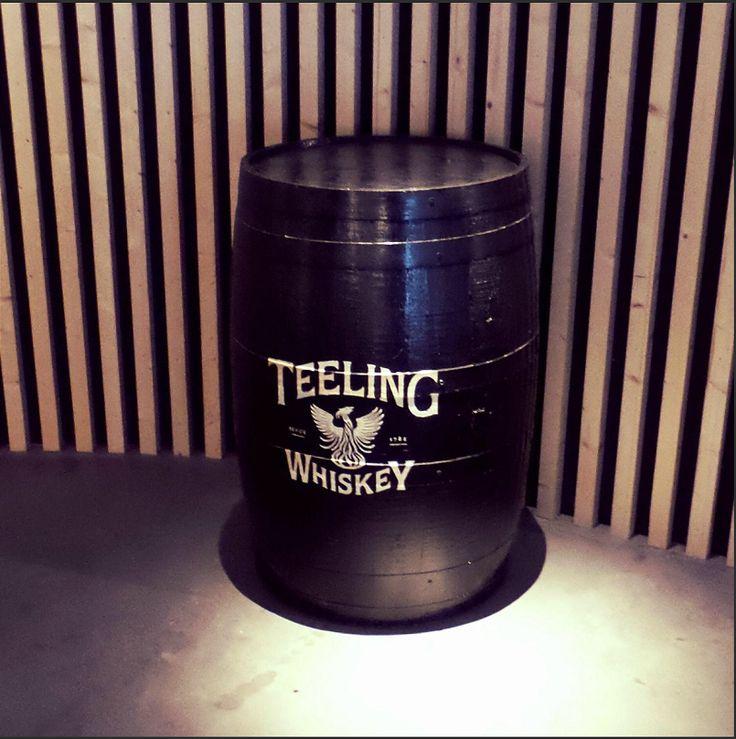 Teeling whiskey barrel Branded By RKD Floral Displays