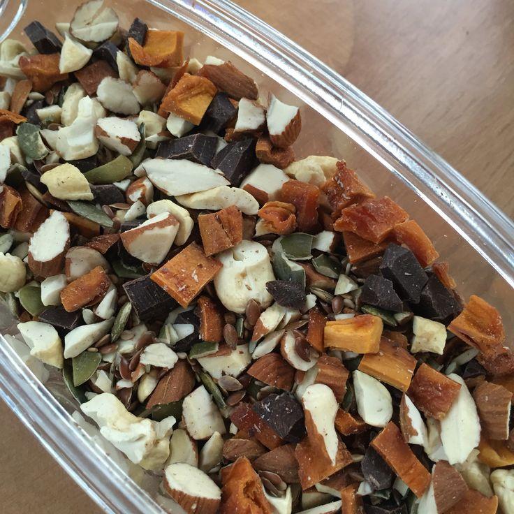jeg kan godt lide at lave hjemmelavet müsli, og gerne en med en masse nødder. De smager fantastisk og er betydeligt sundere.