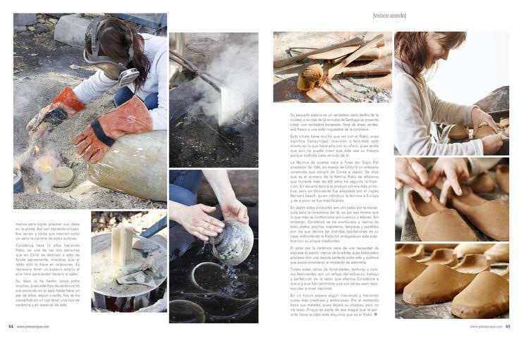 Revista Platos&Copas // Vamos arando: Alquimia al aire libre.
