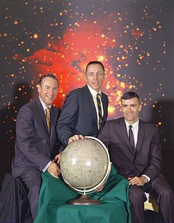 Jim Lovell, Jack Swigert et Fred Haise ........Apollo 13