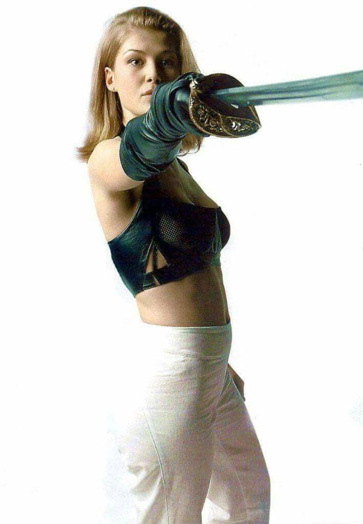 Rosamund Pike as Miranda Frost in Die Another Day (2002).