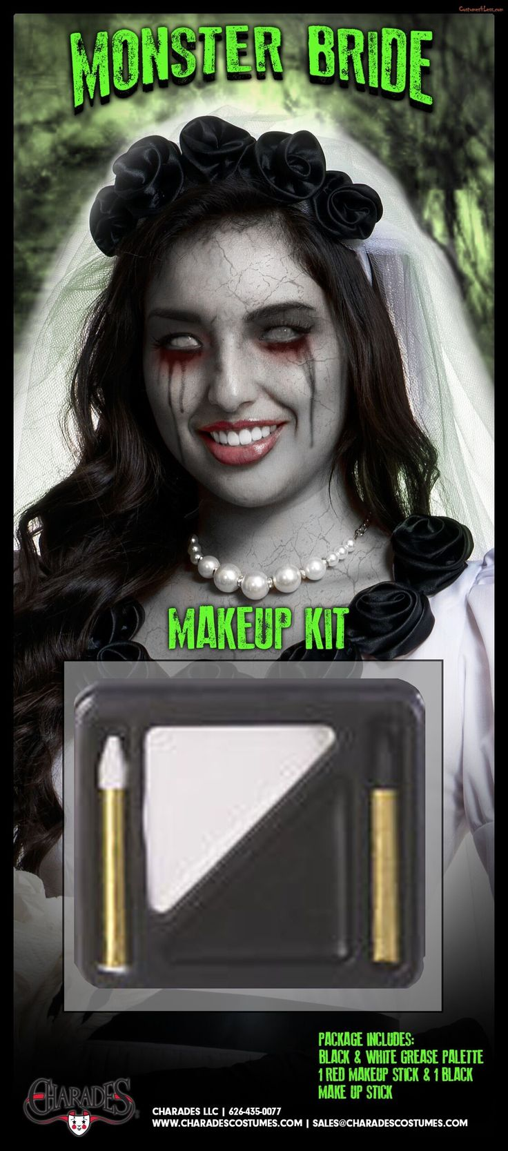 Monster Bride Makeup KitBride, Monster, Kit Bride