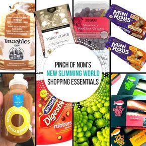 New Slimming World Shopping Essentials – 4/8/17