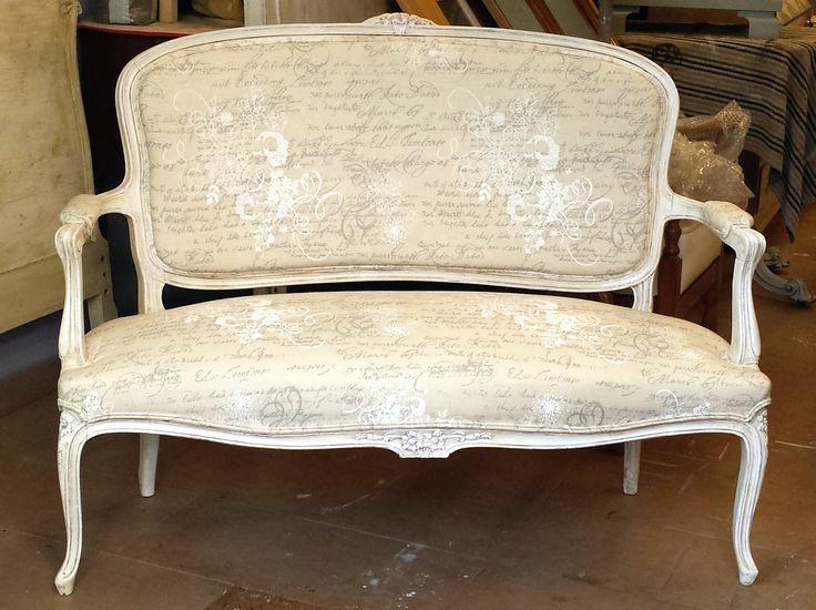 70 mejores im genes sobre banquetas sillas y sillones en - Sillon estilo provenzal ...