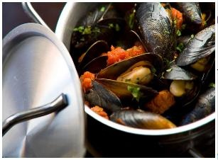 Mussels of the day @ The Living Room