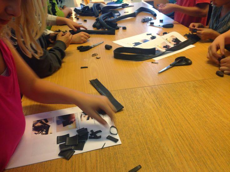 Jannis undervisningsforløb: Håndværk og design - Flet med cykelslanger