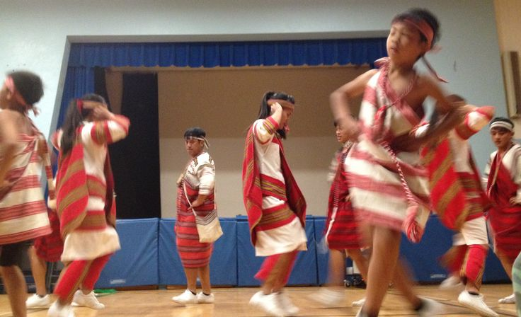 The Atayal Group Performs @ Queen E.  Part of the performance included a Power-Point about their history as an Indigenous group in Taiwan.