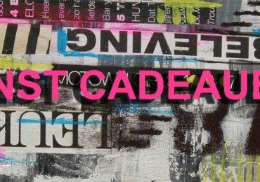 Kunst cadeaubon shop Janet Edens mixed media