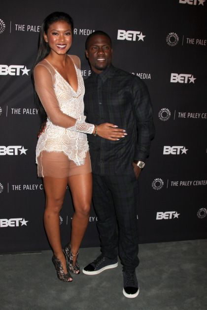"Kevin Hart & Fiance Eniko Parrish At Real Husbands Of Hollywood"" Premiere"
