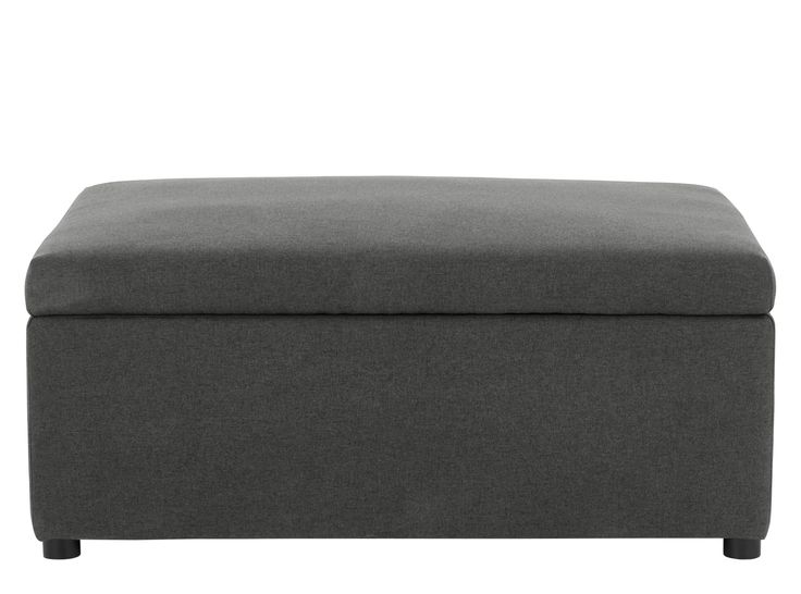 MADE Essentials Fip Ottoman Single Sofa Bed, Sterling Grey