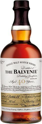 The Balvenie Forty single malt scotch whiskey