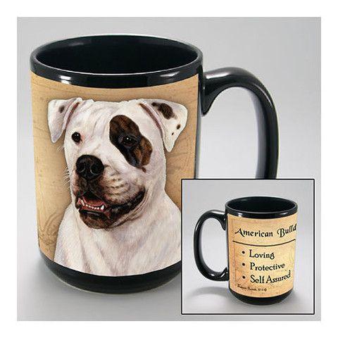 Faithful Friends American Bulldog Dog Breed Coffee Mug
