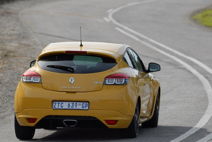 Renault Megan Sport RS will be driven by the DJ's taking part in the DJ Challenge during the Renault Simola Hillclimb
