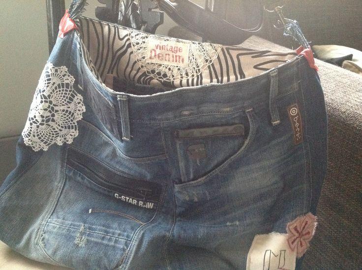 Vintage - denimbag