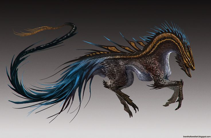I chose this concept piece as I like how their appears to be a snake for the head and its body goes down the spine of the actual creature. I really like how they have incorporated this in as it really transforms the body from being that of a simple animal. Since I have been looking at doing a reptilian boss in particular, i will perhaps consider this feature. I also have been inspires to perhaps to smaller snakes that flow down on lines of the limbs, possibly posing as weapons?