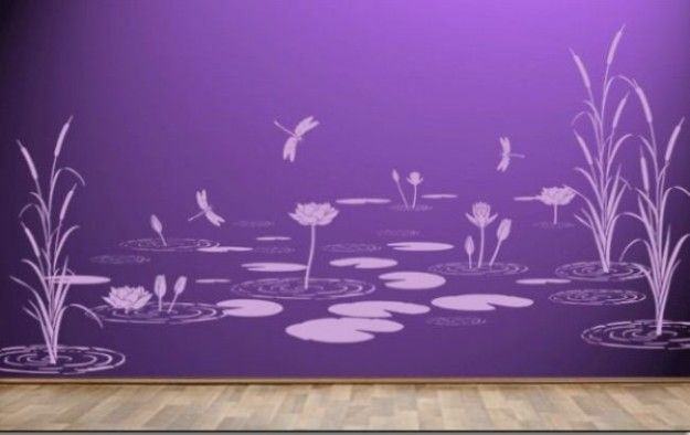 idee originali per dipingere co effetti speciali le pareti della ...
