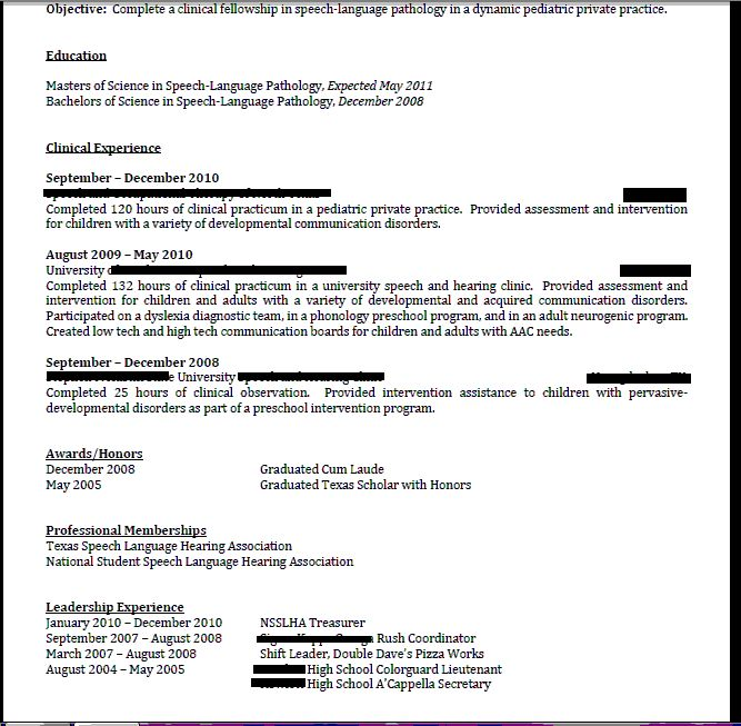 1000+ Images About SLP-Resume/Cover Letter On Pinterest