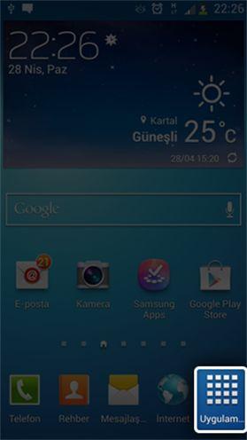 Samsung S4 Turkcell E-posta Kurulumu - Ayarlari.net