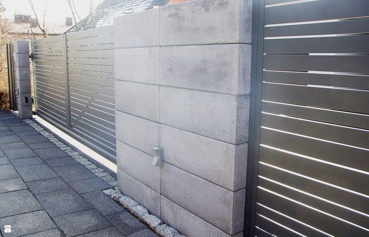 Ogrodzenie aluminiowe Impressive - zdjęcie od Nive - Ogród - Styl Nowoczesny…