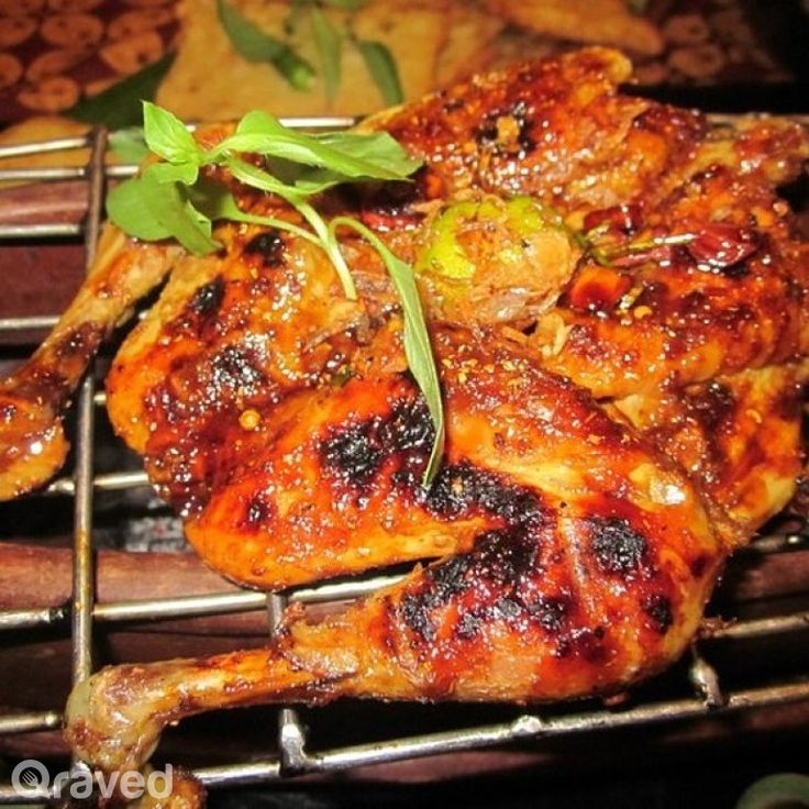 Ayam Bakar at Lara Djonggrang