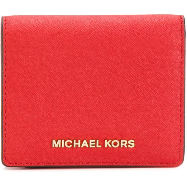 Michael Michael Kors small purse ($76) ❤ liked on Polyvore featuring bags, handbags, red, hand bags, red handbags, michael michael kors purse, michael michael kors bags and man bag
