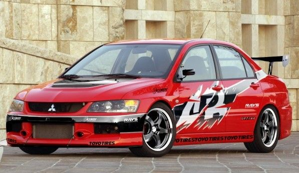 Autonation Used Cars >> Mitsubishi Lancer Evo IX from Fast and Furious Tokyo Drift.Driven By:Lucas Black (Sean Boswell ...