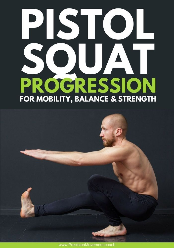 Wondering how folks at the gym can drop into pistol squats easily, while you feel you'll never have the control or balance? Lucky for you all you need is a quality pistol squat progression and some patience – let me show you the progression and you just add the patience and you'll be good to go. @pmovementcoach