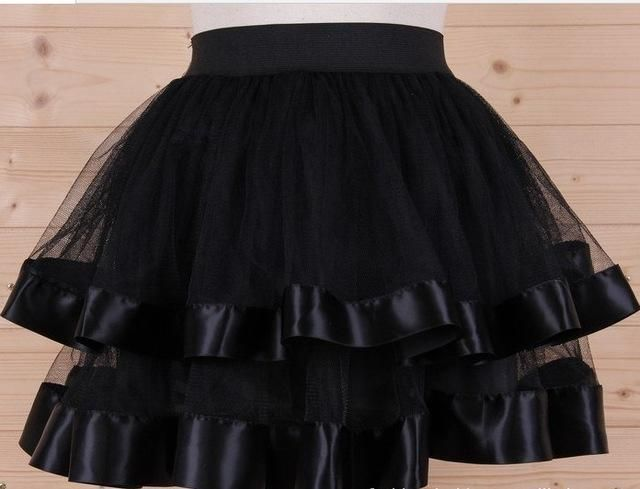 Women S Tutu Fashion Mesh Transparent Layered Designer Skirts Short Idees De Mode Jupe En Tulle Jupe Tutu Noir