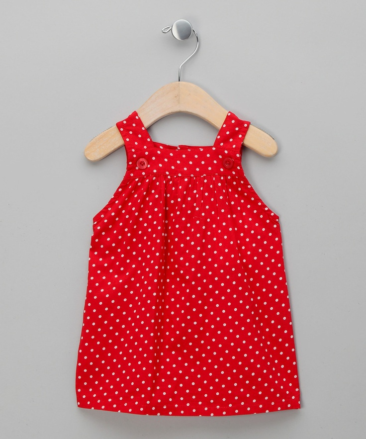 Red Polka Dot Tunic - Infant   Daily deals for mums, babies and kids