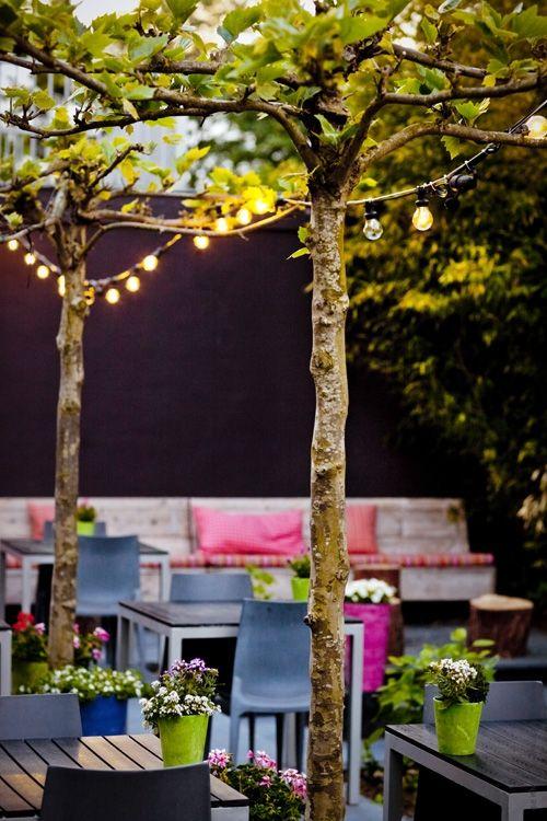 """Groenland   Driebergen   Lunch   Diner   """"Het restaurant is verdeeld in verschillende gedeeltes met ieder hun eigen sfeer: je kunt aanschuiven aan de stamtafel, uitgebreid dineren, iets drinken aan de bar, werken op je laptop tijdens de lunch of in de zomer genieten van een glas wijn in de tuin."""""""