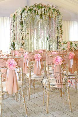 Декорирование выездной регистрации брака