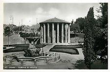 Italy 1930s Real Photo Postcard Roma Rome - Tempio di Vesta