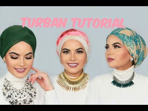 HOW TO: Tie A Head Wrap/ Turban Into 3 Different Styles - YouTube