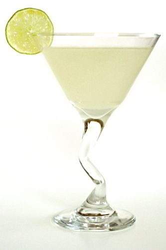 Vodka Gimlet  4 parts good vodka 2 parts freshly squeezed lime juice 1 part simple syrup ice  Combine all ingredients in a cocktail shaker, attach the lid and shake shake shake. Strain into a glass.