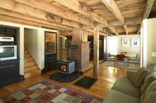 Website offers tips on how to remodel a basement on the cheap. Inexpensive basement remodel ideas.