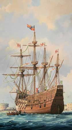 Much is made of the Mary Rose's last battle, but you rarely hear about her first, the Battle of Saint-Mathieu, 33 years earlier.