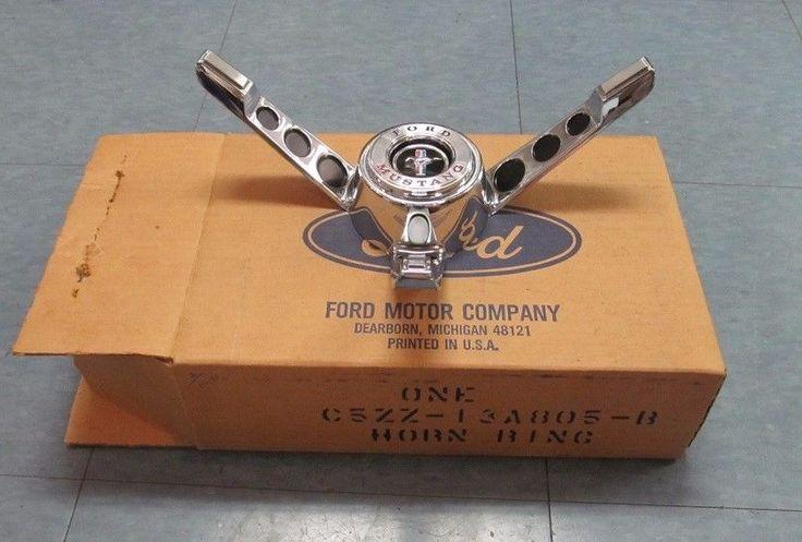 1965 66 Mustang Standard Steering Wheel Horn Ring Assembly | eBay