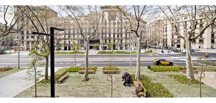 remodelación del Paseo de St Joan ( entre arc de triomf y plaza tetuán ) barcelona | lola domènech arquitecta