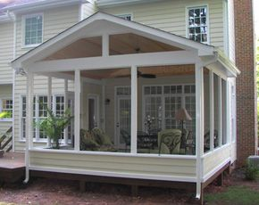 screened in porch ideas | Porches Raleigh | Screened In Porch Builders | Screened Porches ...
