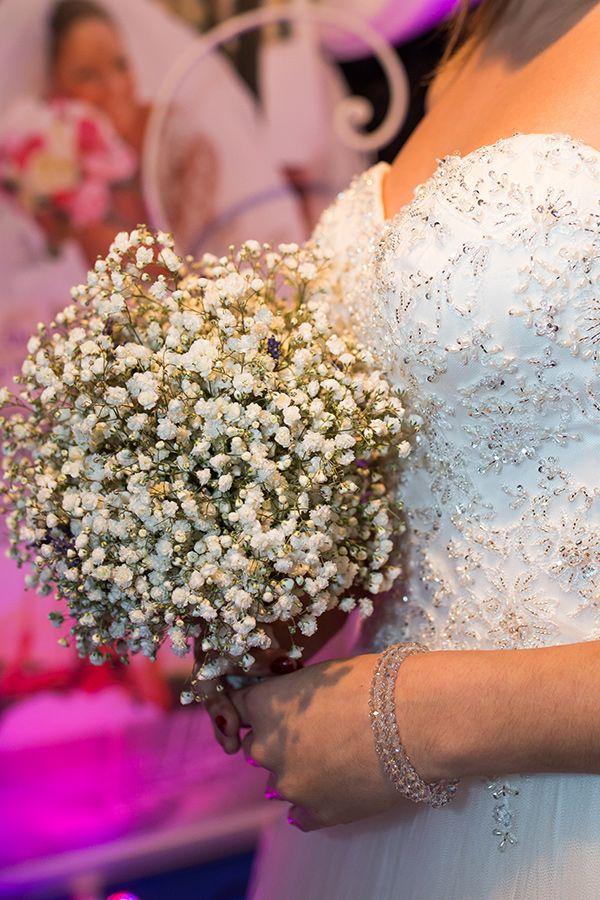 Buchet de mireasa Gypsophila - Noblesse Flowers & Events Cluj