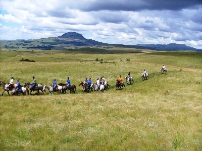 Horse riding in the Kamberg, KZN Midlands BergTrails, horse rides/trails & accommodation