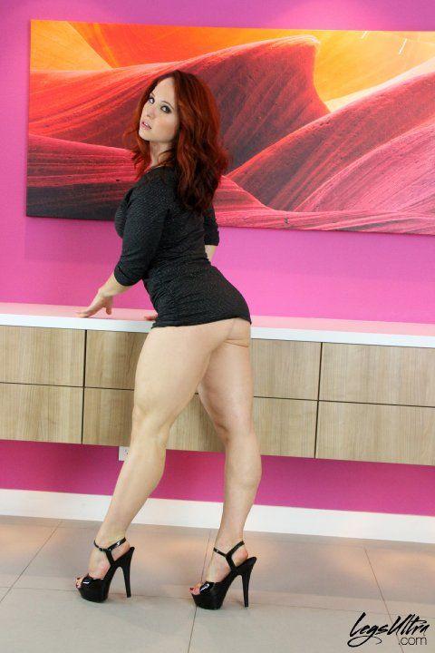 Andrea (legs ultra) | s en 2019 | Women's muscular legs ...