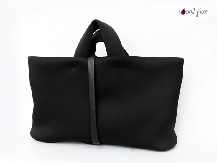 Black SIRIA bag from Fausto Santini