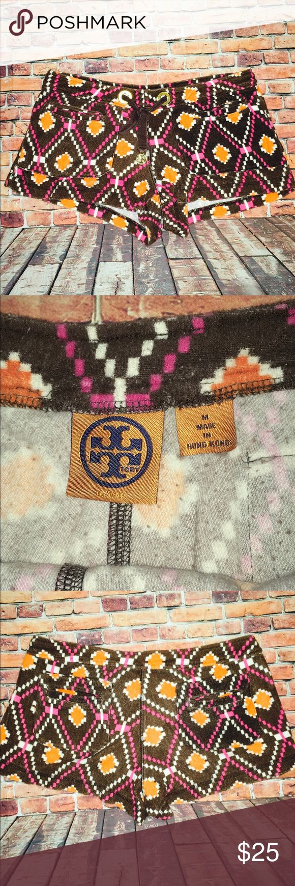 Tory Burch Aztec Print Shorts super cute and comfty. Tory Burch Shorts