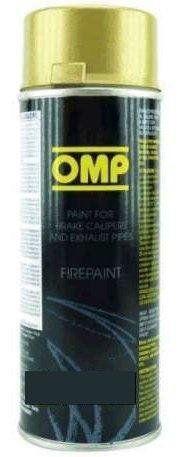 Peinture OMP Haute température pour Moteur, Échappement, Etriers, Or: Bombe Peinture haute température 800° Peinture spéciale pour tube…